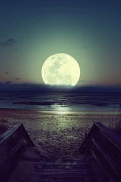 Seaside Moon