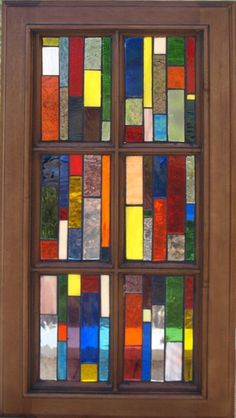 stained glass mosaics on old windows | Stained Glass Mosaic Window | Old Windows