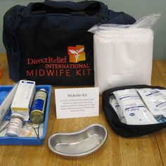 Direct Relief's Midwife Kit