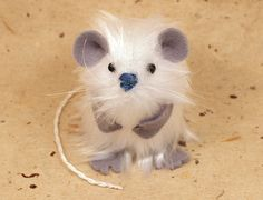 Yeti Abominable Snowman Mouse by TheHouseOfMouse