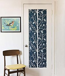 Need idea to make doors more exciting you can do this with small panel doors as well.