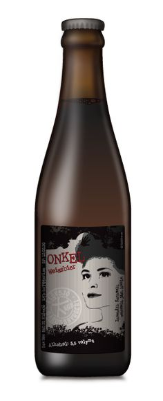 Onkel Weissbier - Illustration and label design by Linda Porsbjer, Diablito. Beers Of The World, More Beer, Label Design, Craft Beer, Whiskey, Brewing, Ale, Steak, Lifestyle