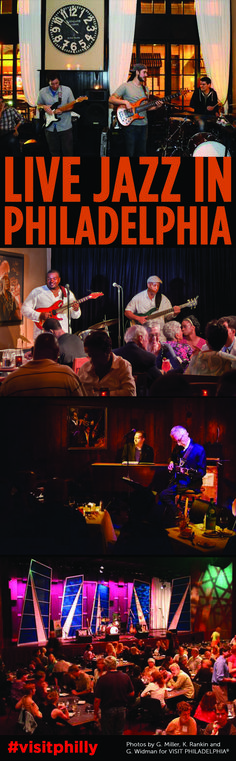 Top Places to Listen to Live Jazz in Philadelphia #visitphilly
