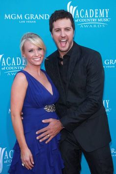 Luke & Caroline Bryan | So cute!!