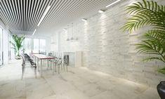 Wandgestaltung Im 3D Stonemix   Räume Individuelles Raumkonzept #Fliesen  #stonemix #hausgestaltung #hausplanung #Esszimmer #wohnzimmer  #Wandgestaltung ...