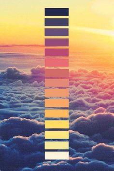SUNSET YELLOW Rainbow Dust Plain /& Simple colour
