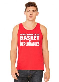 Proud Member Of The Basket Of Deplorables tank top