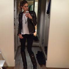 #MelissaSatta Melissa Satta: #me #melissasatta @givenchyofficial #hm #jbrand @brunarossocom