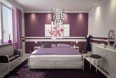 Idee per arredare la camera da letto - Camera da letto con pareti ...