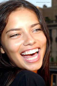 Adriana Lima. Ugh. She's perfect.