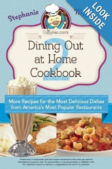 Dining Out at Home Cookbook 2 - The Spring Mount 6 Pack This cookbook is full of #copycat #recipes