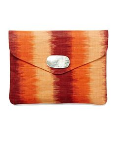 Printed Straw Envelope Clutch - New Arrivals - Lucky Brand Jeans