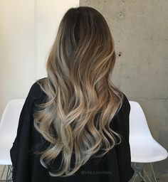 """Rachelle Che Mariano on Instagram: """" Balayage Ombré  . . Products used: @ultrabondseal mixed with @skppro blondme , these two together are absolutely amazing! Up to 9 levels of lift and also reassuring the health of the hair  Colors by @fanola_usa ❤️ by far have the best products for toning out unwanted brassy tones and an even coverage """""""