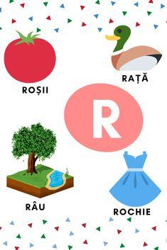Planșe cu literele alfabetului – GOGU 4 Kids, Kids Education, School, Tudor, Montessori, Logo, Alphabet, Early Education, Logos