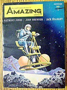 Amazing Stories Magazine November 1964