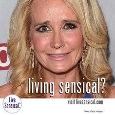 "Living Sensical? Kim Richards - ""Real"" Housewives Beverly Hills - Shoplifting - Hospital - Rehab"