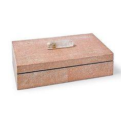Rectangle Shagreen Box