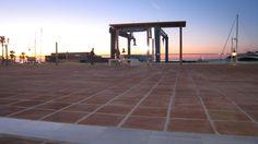 Amanecer en el Puerto de Estepona.