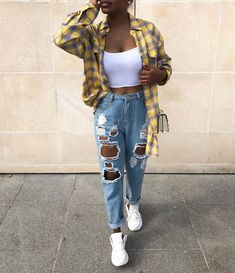 Clothes Ideas Archives - Best DIY and Crafts Ideas Teenage Outfits, Teen Fashion Outfits, Edgy Outfits, Cute Casual Outfits, Mode Outfits, Retro Outfits, Simple Outfits, Look Fashion, Girl Outfits