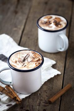 Vegan Hot Chocolate Milk with Coconut Cream