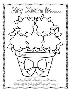 Free Mothers Day Bible Crafts Activities Honor Your Mother Printables Games Copywork