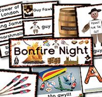 Bonfire Night / Guy Fawkes Night teaching resources
