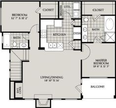 3 car garage with 3 or 4 bedroom apartment above by for Attached garage apartment plans