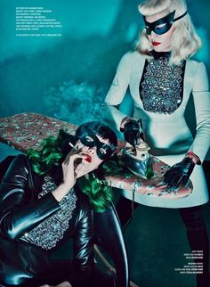Fashiontography: Madonna & Katy Perry by Steven Klein