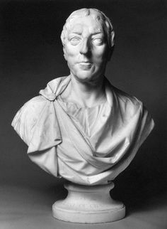 Bust of William Pitt, 1st Earl of Chatham, by Joseph Wilton, c1766.