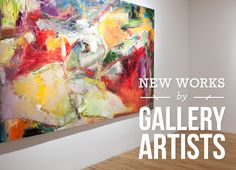 New Works by Gallery Artists features two new artists, Bassmi Ibrahim and  Robert Porazinski, as well as new work by Amy Donaldson, Jennifer Jones  and Glynis Chaffin-Tinglof, through August 30th.