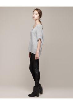 Rag & Bone / Laurel Short Sleeve Knit