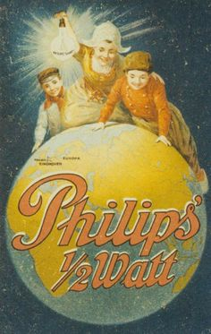 Our advertisement half watt light ca 1913 | History