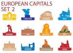 European Capitols Printable 2 - KidsPressMagazine.com