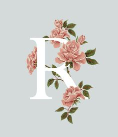 An A-Z of Edible Flowers on Behance. ,An A-Z of Edible Flowers on Behance, Lettering Design, Hand Lettering, Graphic 45, Graphic Design, Petit Tattoo, R Wallpaper, Alphabet Design, R Letter Design, Floral Letters
