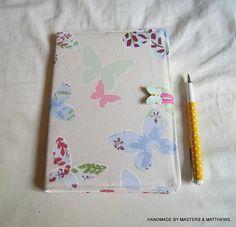 Diary 2018 A5 Diary Hardback Diary Butterfly Fabric Cover