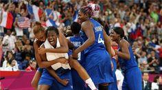 bravo aux filles de l'équipe de France de basket!
