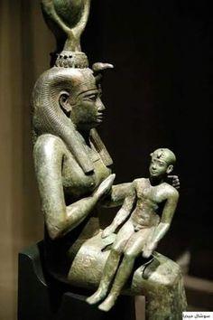 Isis Breatfeeding Horus