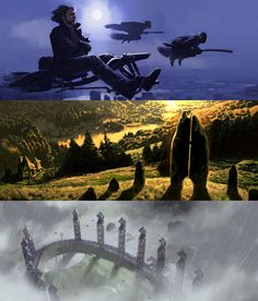 the thing harry potter will miss most, sir! — Harry Potter Film Concept Art by Adam Brockbank...
