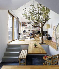 Casa Elementos Naturais | Eco Elements House | Maison Éléments Naturels by Hardel + LeBihan Architectes - Paris, France