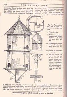 Dovecote Plans | Dovecote anyone have one on here | Gardeners Corner