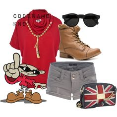 Numbuh 1 - Codename Kids Next Door Other Outfits, Cool Outfits, Cartoon Outfits, Cartoon Fashion, Anime Outfits, Disney Bound Outfits, Princess Outfits, Fandom Outfits, Casual Cosplay