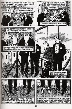 Maus- Art Spiegelman | The Invisible Art