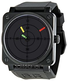 Bell and Ross Aviation Radar Black Dial Mechanical Mens Watch. List price: $4500