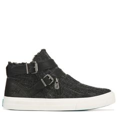 Get casual style in the Womens Blowfish Mojo Slip On Sneaker.Canvas upper in a high-top sneaker styleSlip-on entry with inside zipperAdjustable buckle strap and zipper detailsFrayed toplineSoft lining with cushioned insoleDurable traction outsole Ankle Sneakers, Slip On Sneakers, High Top Sneakers, Casual Wear Women, Blowfish Shoes, Luxury Shoes, Womens Slippers, Sneakers Fashion, Character Shoes