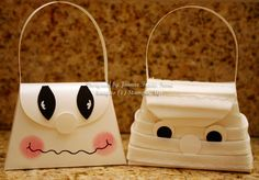 Ghost and Mummy by sleepyinseattle - Cards and Paper Crafts at Splitcoaststampers