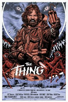 John carpenters the thing 1982 fan poster