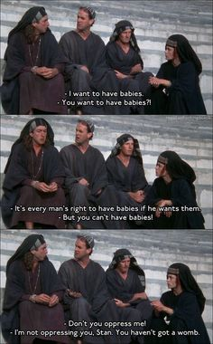 The Life of Brian, not my favorite, but still good nonetheless.