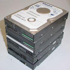 SATA - Lot of 5 Name Brand 250 GB SATA Hard Drives 7200 RPM