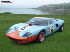Ford Gt  Gulf I Saw This Car At Pebble Beach Amazing