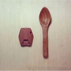 キャプション→#Noseflute#flute#spoon #cherrywood #musicalinstrument #carpenter #woodworking #wood#鼻笛#笛#スプーン#桜#楽器#木工#木製雑貨#木製スプーン#ノーズフルート#handmade #ハンドメイド木工 ユーザー→woodapedite 場所→